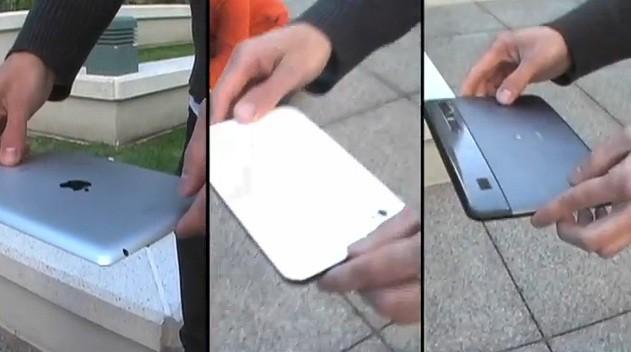 Drop test: iPad 2, Xoom e Galaxy Tab - Qual è il più resistente?