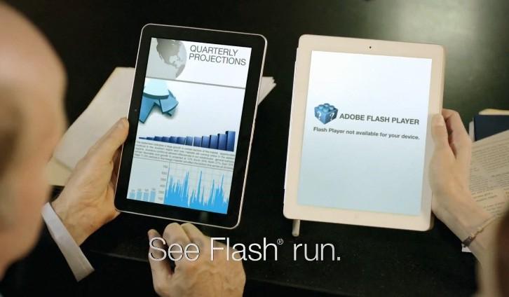 Samsung Galaxy Tab 10.1: il primo spot, con frecciatina ad iPad