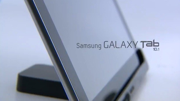 Video promo per il Samsung Galaxy Tab 10.1