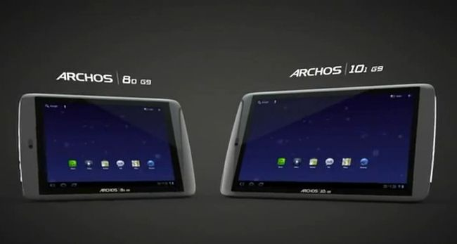 Archos 80 G9 e 101 G9 in un primo video hands-on
