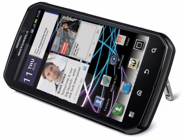 Motorola presenta Photon 4G, smartphone Android WiMAX