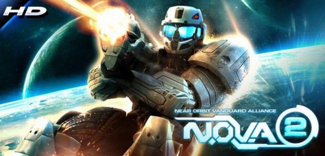 N.O.V.A. 2 HD rilasciato in Android Market