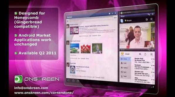 Onskreen Cornerstone: multitasking multifinestra per Android