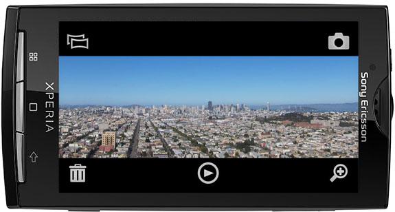 Foto panoramiche con Sony Ericsson Xperia X10 (scatti di prova)