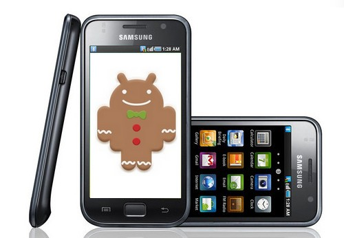 Gingerbread per Samsung Galaxy S in arrivo