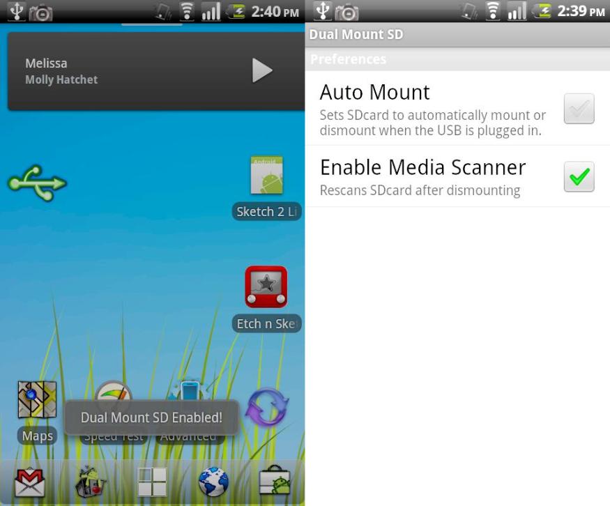 Dual Mount SD: monta la scheda SD su PC e telefono allo stesso tempo