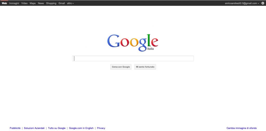 Nuova interfaccia Google anche per il sito Desktop