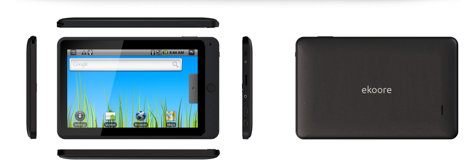 Ekoore Pascal: tablet Android a 229€