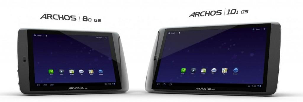 Archos G9, svelati i prezzi ufficiali di tutte le varianti