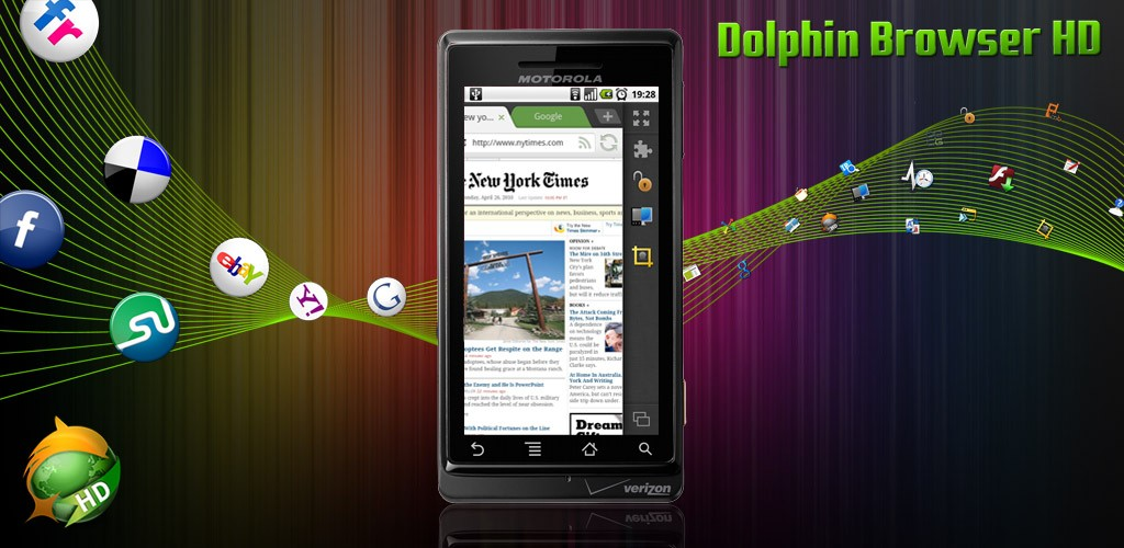 Dolphin Browser HD 6.0 rilasciato in Android Market, in Beta