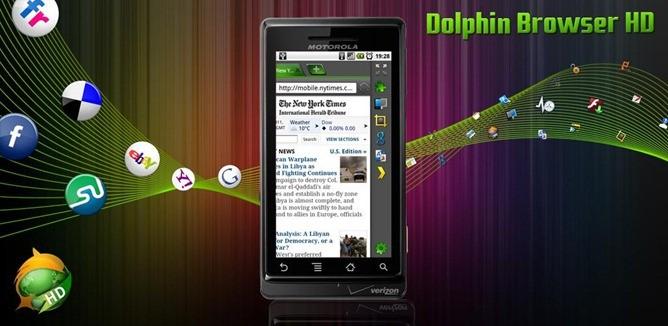 Dolphin Browser HD 5.0: rilasciata la versione finale, con Adblock