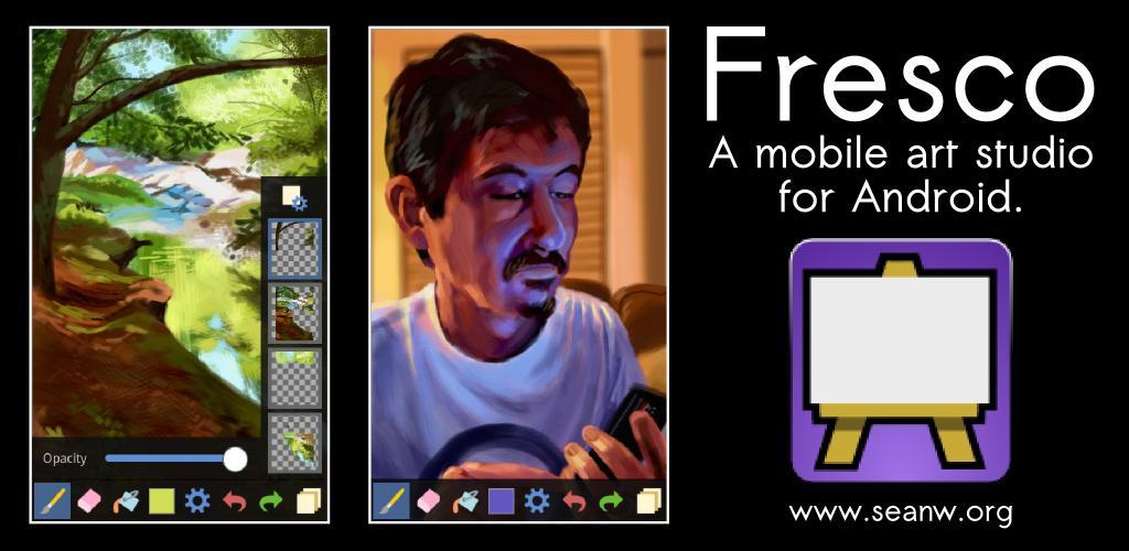 Fresco: una potente e intuitiva applicazione di disegno, per Android