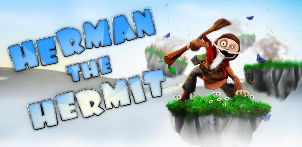 Herman the Hermit: un nuovo jumping game, demenziale!