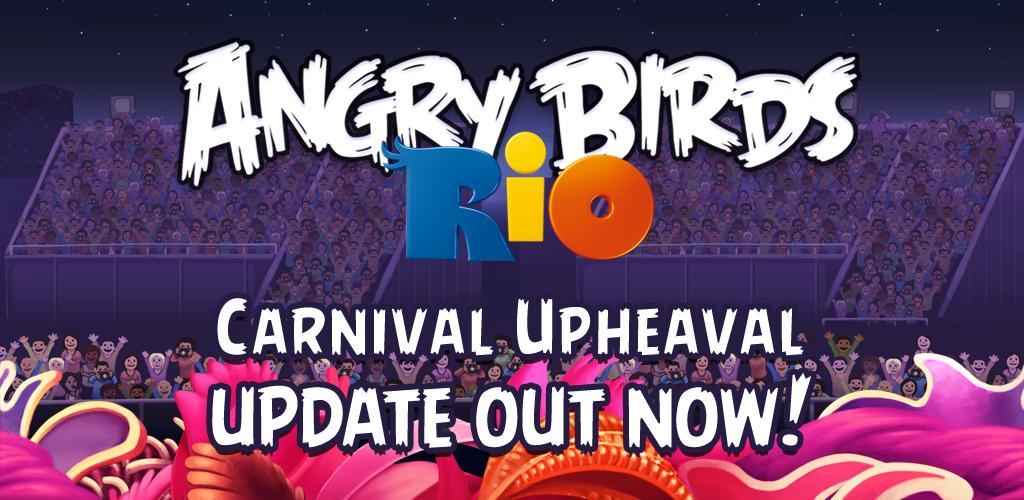 Angry Birds Rio Carnival rilasciato in Android Market