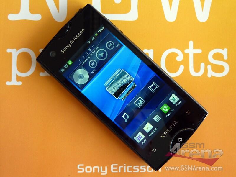 Sony Ericsson ST18i Urushi si mostra in foto