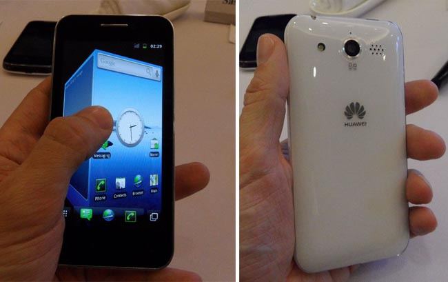 Huawei M886 Glory: Android 2.3.3 e CPU da 1,4 Ghz