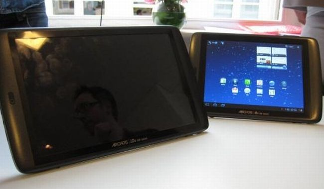 I tablet Archos 80 G9 e 101 G9 in un nuovo video hands-on