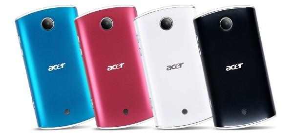 Acer Liquid Mini: in arrivo nuovi colori, e Gingerbread