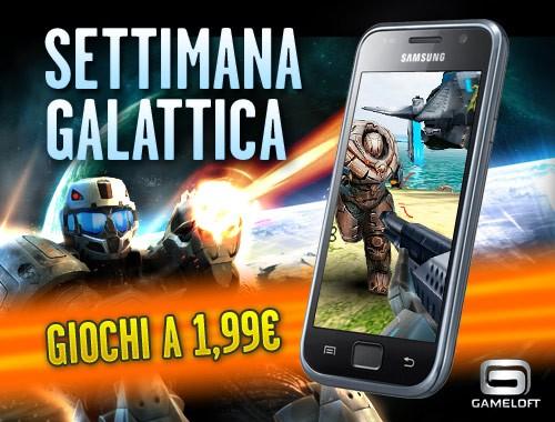 Gameloft: tutti i giochi HD scontati a 1,99€, solo per i Samsung Galaxy