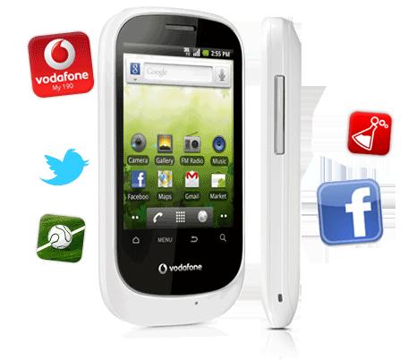 Vodafone Smart Android, dal 12 Giugno a soli 99 euro