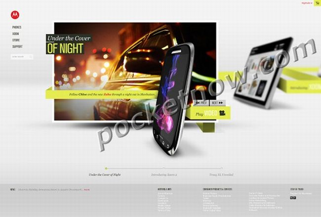 Motorola svela Xoom 2, Tracy XL, Slimline, Zaha, Targa e Pearl