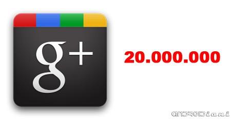 Google+ a quota 20 milioni di utenti in tre settimane