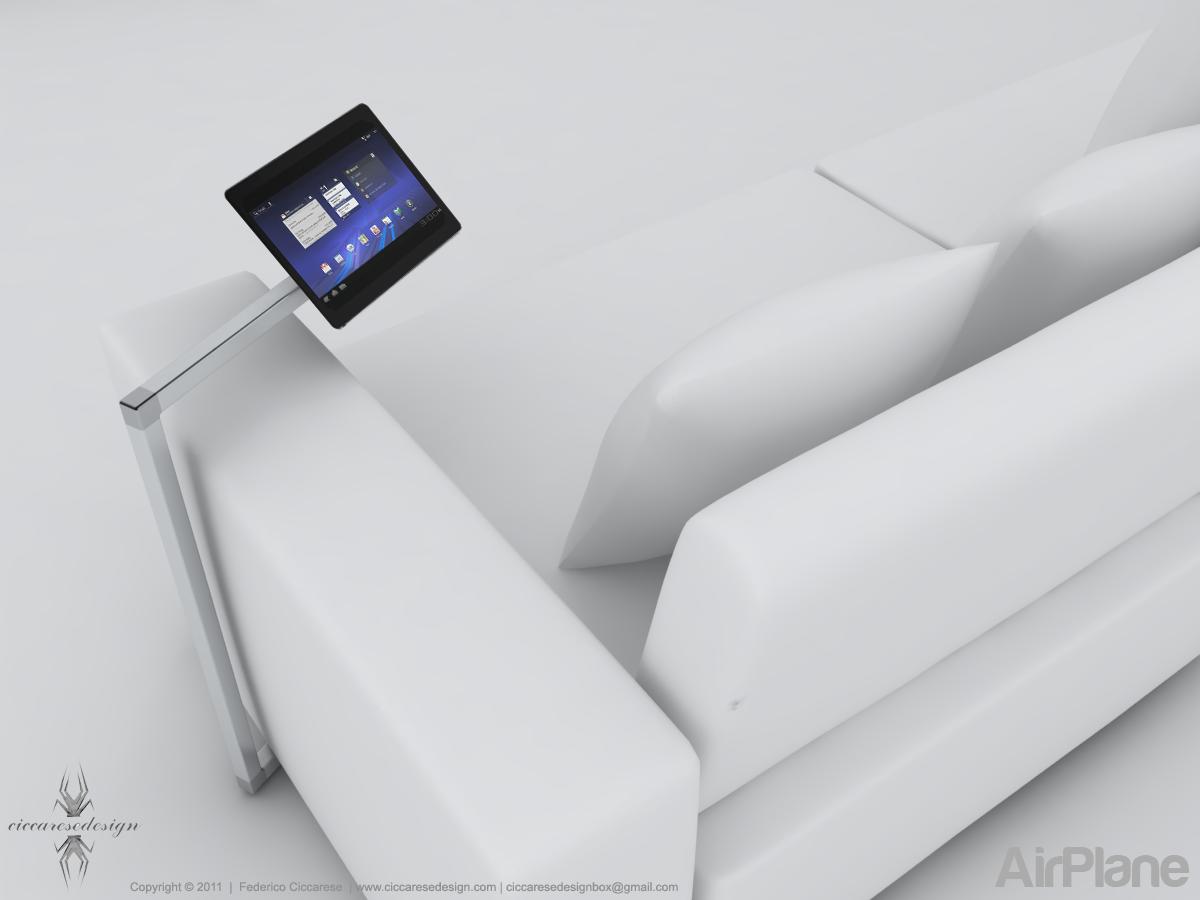AirPlane, supporto a terra per i nostri dispositivi