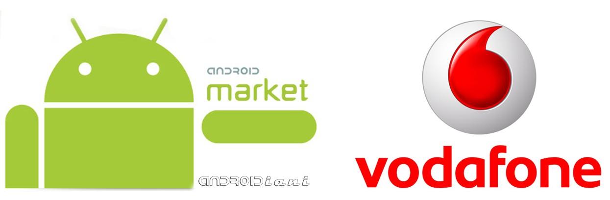 Vodafone sull'Android Market