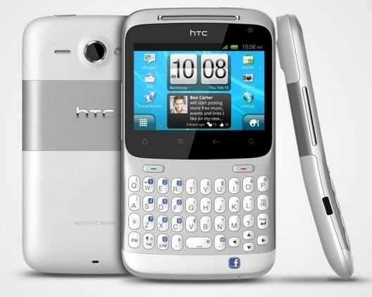 HTC ChaCha arriva sul mercato in esclusiva con TIM, a 299 euro