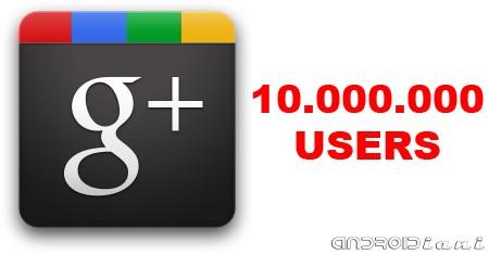 Google Plus raggiunge 10.000.000 di iscritti [13.07.11]