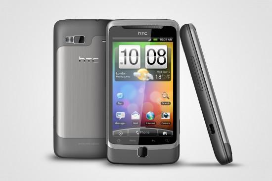 HTC Desire Z: iniziato il rilascio di Gingerbread