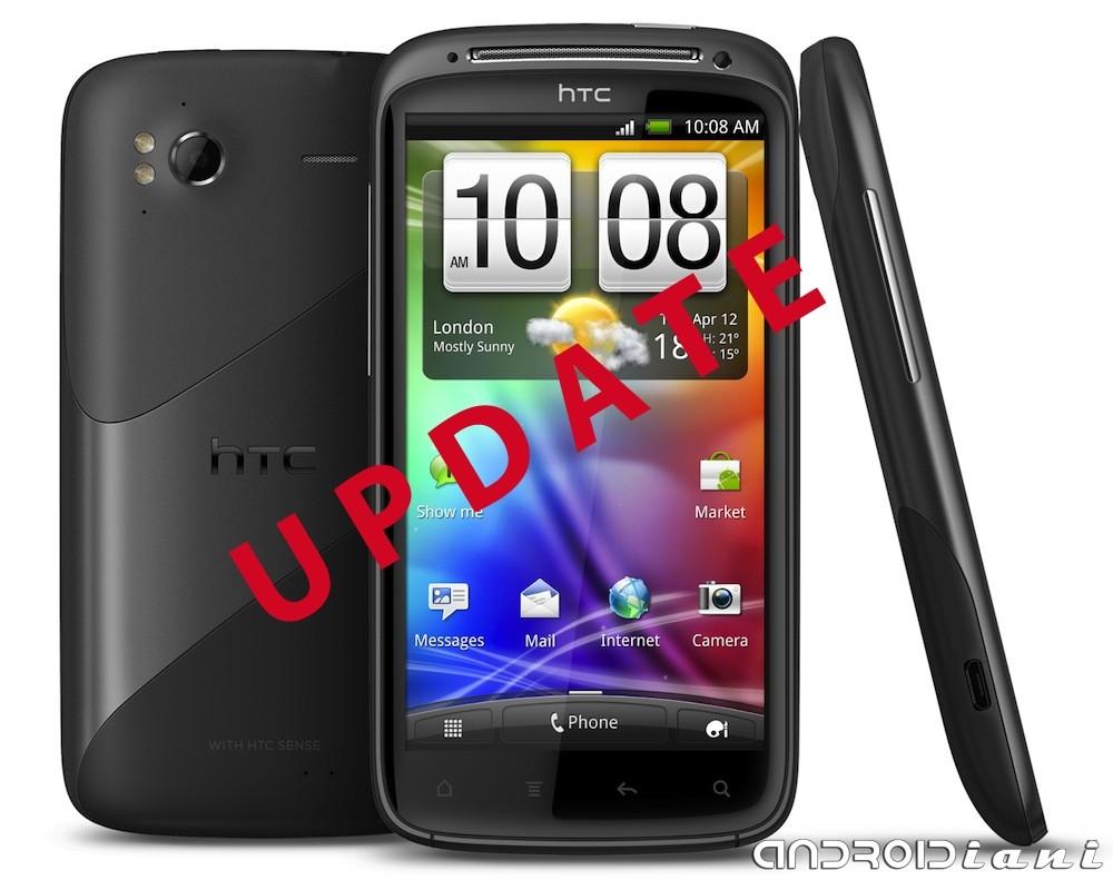 Aggiornamento per HTC Sensation