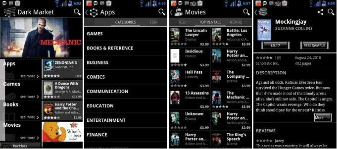 Android Market, arriva la versione