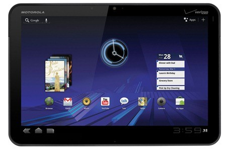 Motorola Xoom: primo tablet con Android 3.2?