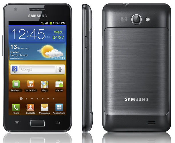 Samsung Galaxy R con display da 4.3