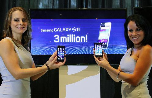 3 Milioni di Samsung Galaxy S II venduti