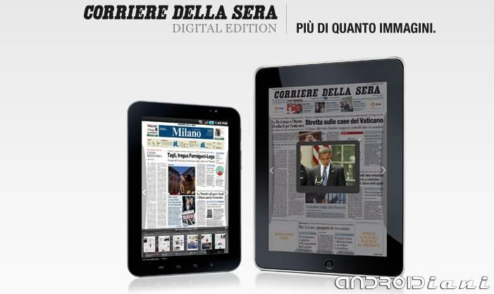 Corriere della Sera Digital Edition per Android