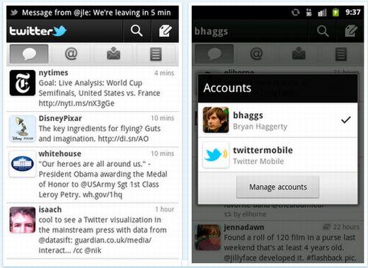 Twitter si aggiorna ed introduce le notifiche push