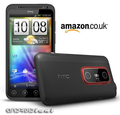 Pre-ordine HTC EVO 3D: da Amazon è no brand