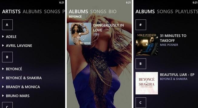 UberMusic arriva in Android Market, con skin e widget personalizzabili
