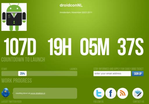 Droidcon 2011 - Amsterdam - 22/23 Novembre