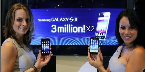 Nuovo record vendite per il Samsung Galaxy S II