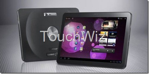 Samsung Galaxy Tab 10.1: in arrivo aggiornamento con TouchWiz