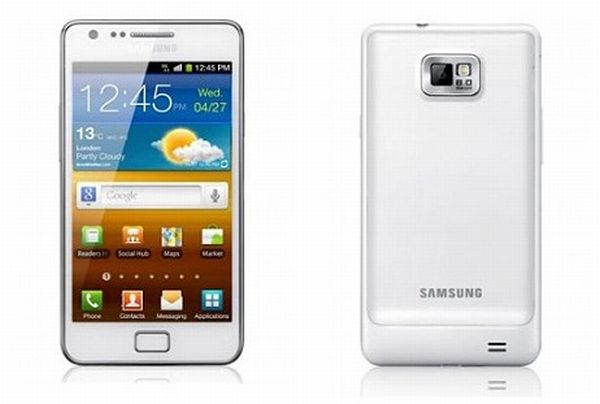 Samsung Galaxy S II si tinge di bianco per l'Europa