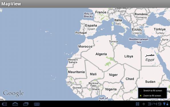 Zoom to fill screen, nuova funzione per le applicazioni su Android 3.2