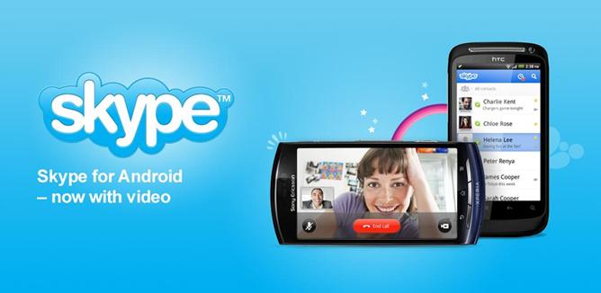 Skype: videochiamata ora disponibile per molti smartphone