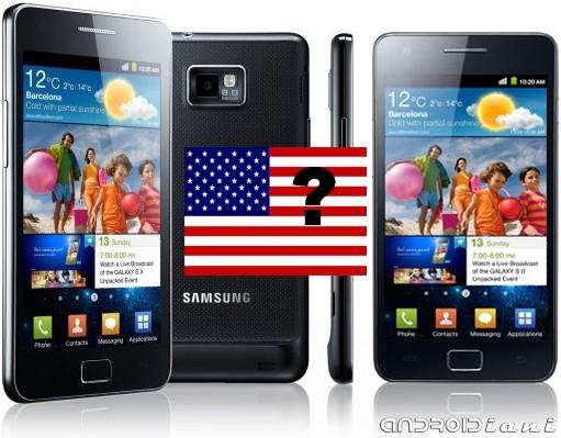 Samsung Galaxy S II in America il prossimo mese