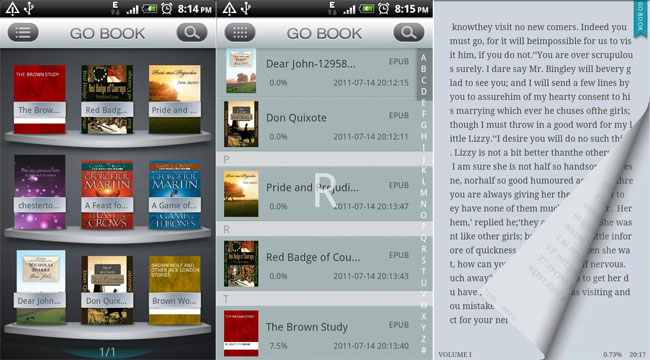 GO Book, il nuovo ebook reader del GO Dev Team
