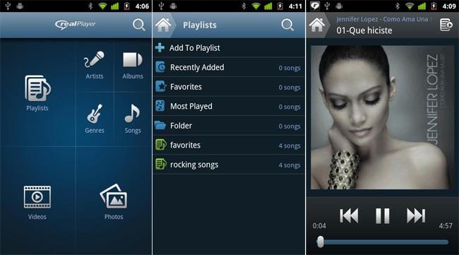 RealPlayer per Android si aggiorna con tante novità