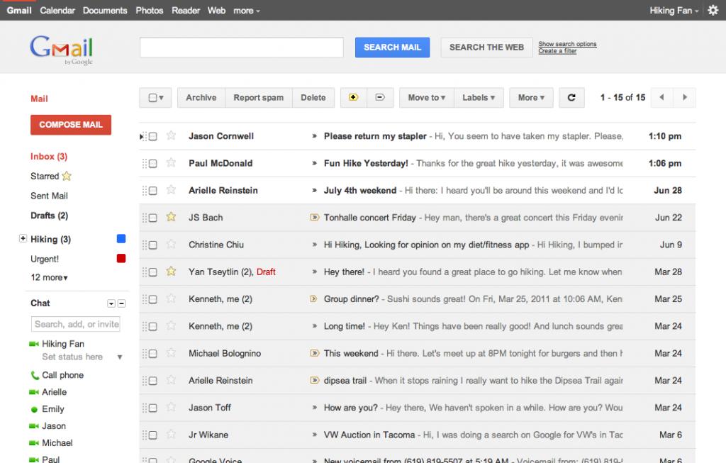 Nuova veste grafica anche per Gmail e GCalendar, come averle